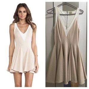 Torn by Ronny Cobo Party Dress in Roasted Almond